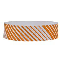 eCart Products Tyvek Wristband - Stripes. 1000 wristbands per dispenser box.