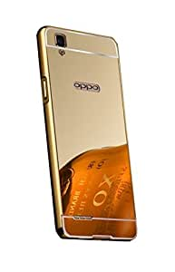 ZEDAK BUMPER+BACK FOR OPPO F1 S-GOLD