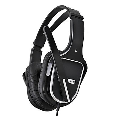 Wohai Gadget Mall - Somic Ev-50 Stereo 3.5Mm Gaming Over-Ear Headset With Mic And Remote For Pc