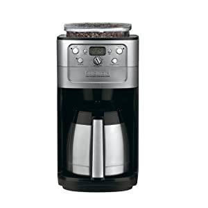 Cuisinart DGB-900BC Fully Automatic Burr Grind & Brew Thermal Coffeemaker