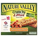 Nature Valley Crunchy & More Granola Bars Oats & Hazelnuts 10 X 21G