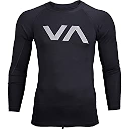 RVCA Reflect Rashguard - Black - Large