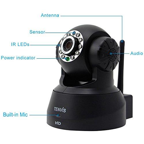 TENVIS JPT3815W-HD Wireless