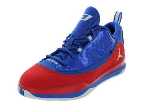 Nike Kids Jordan CP3.VI AE (PS) Sport Red/White/Game Royal Basketball Shoes 2.5 Kids US