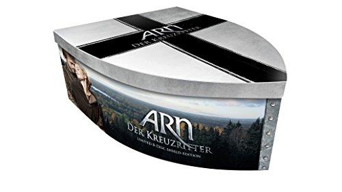 ARN - Der Kreuzritter - Die komplette Saga als Shield-Box (Limited Edition: 7 DVDs, 1 Blu-ray, 2 Ritterfiguren) (exklusiv bei Amazon.de)