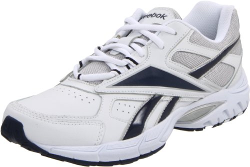 6055b1fb017 Feature of Reebok Men s Infrastructure Cross Training Shoe White Navy  Silver 10 5 4E US. Shoes - Low