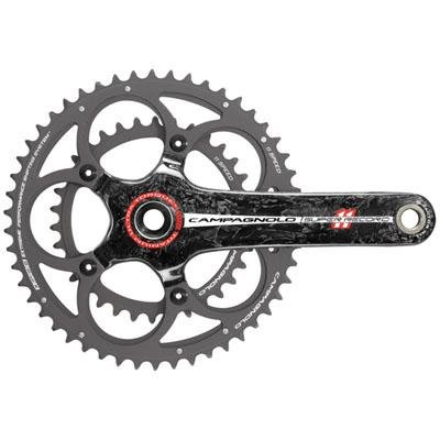 Campagnolo Super Record 11-Speed Titanium Road Bicycle Crank Set