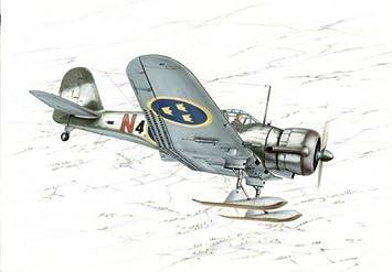 Maquette ASJA/SAAB B-5 Swedish Dive Bomber