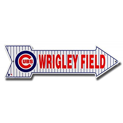 wrigley-field-chicago-cubs-metal-arrow-street-sign