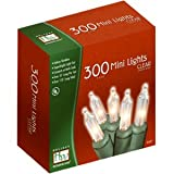 Holiday Wonderland 300-Count Clear Christmas Light Set