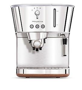 Rowenta ES460010 Silver Art Machine à Espresso Manuelle Inox brillant