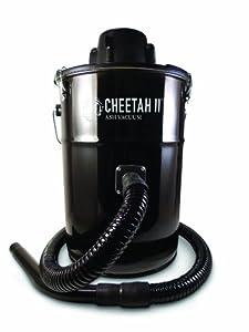 Dustless Technologies MU305 Cheetah II Ash Vacuum, Black