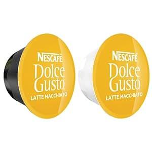 80 x Nescafé Dolce Gusto Latte Macchiato, 80 Capsules (40 Servings)