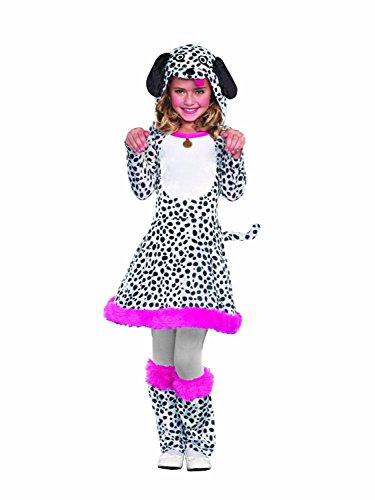 Sugar Sugar Seeing Spots, Dalmatian Dog Puppy Halloween Costume, Teen, Girls (Small) (Dalmation Halloween Costumes Kids)