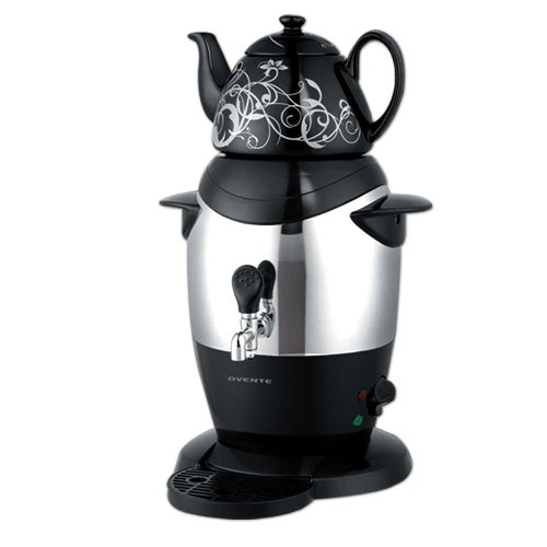 Oster Coffee Maker Reset : Ovente S21B Stainless Steel Samovar Tea Maker With Ceramic Teapot, Black Buy Coffee Store