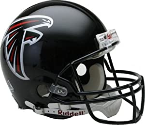 Atlanta Falcons Replica Full Size Riddell Helmet Unsigned by The Sports Mix