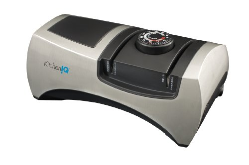 KitchenIQ 50353 Angle Adjust Adjustable Electric Knife Sharpener