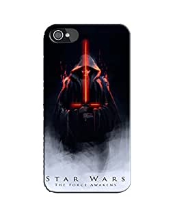 EU4IA Star Wars The Force Awakens Pattern MATTE FINISH 3D Back Cover Case For...
