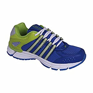 Action Campus 3G173A Royal Blue and Pista Green Colour Running Shoes for Men
