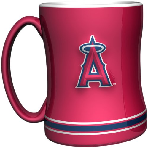 Mlb Los Angeles Angels 14-Ounce Sculpted Relief Mug front-330288