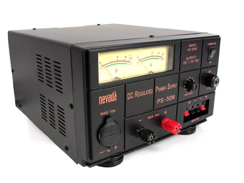 Nevada PS-30M NEW 25/30 Amp Linear Power Supply Black Friday & Cyber Monday 2014
