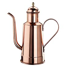 Paderno World Cuisine 10-5/8-Inch High Copper/Tin Oil Dispenser