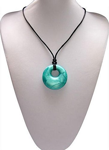 All Natural Ocean Wave Pendant Teething Necklace For Mothers-Donut Shaped Design Chewable Jewelry (Jewelry In The Dishwasher compare prices)