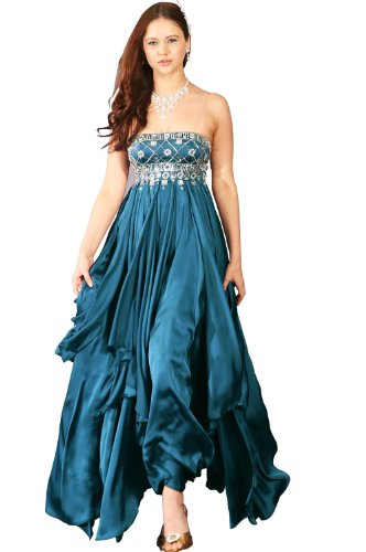 eDressit Blue Evening Prom Dress Ball Gown(00091405) SZ 20