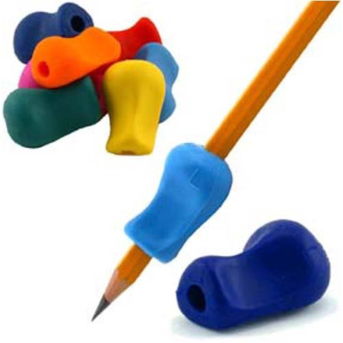 The Pencil Grip, Universal Ergonomic Writing Aid, 6 Count Assorted Colors (Tpg-11106)