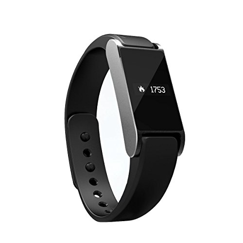 I6 0.49'' Oled Screen Bluetooth Smart Bracelet With Pedometer & Motion Monitor Functions For Iphone & Samsung Phones (Black)