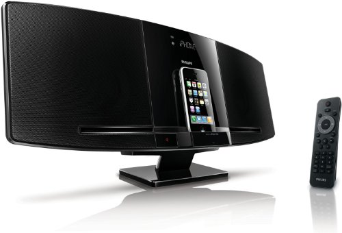 Philips-DCM292 - Micro system with iPhone / iPod cradle - radio / CD / MP3 / USB audio player
