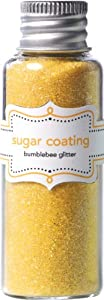 Sugar Coating Glitter 30 Gram Bottle-Bumblebee