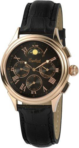 Engelhardt - 386731029003 - Montre Homme - Automatique - Analogique - Bracelet cuir noir