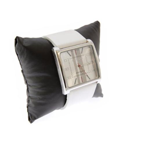 Ben Sherman ベンシャーマン 腕時計 ホワイトフェイス アナログ チェック 本革 レザーベルト ウォッチ r811