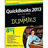 QuickBooks 2013 All-in-One For Dummies [Paperback] [2012] 1 Ed. Stephen L. Nelson Paper book ISBN:1118496752