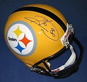 Hines Ward Pittsburgh Steelers Signed Full Size Helmet WARD HOLO HW01806 -... by Sports Memorabilia