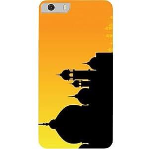 Casotec Mosque Design Hard Back Case Cover for Micromax Canvas Knight 2 E471