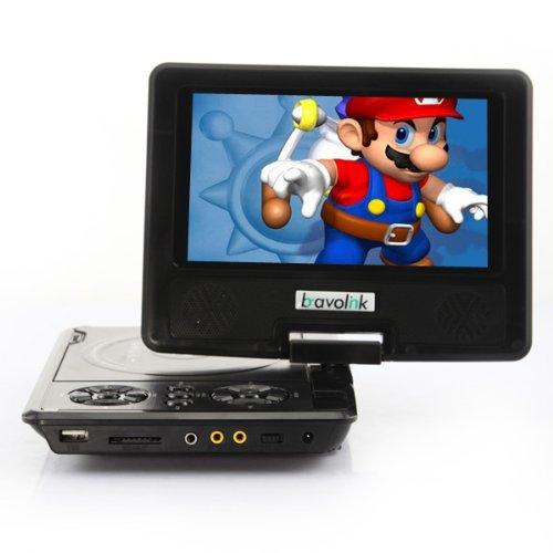 "DB Power 7.5"" LCD SCREEN PORTABLE DVD Player, MP3 MP4 TV GAME MPEG4 NEW 270 AVI DBPower black at Sears.com"