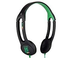 Skullcandy S5ITCY-058 On-Ear Headphone with Mic (Rasta)