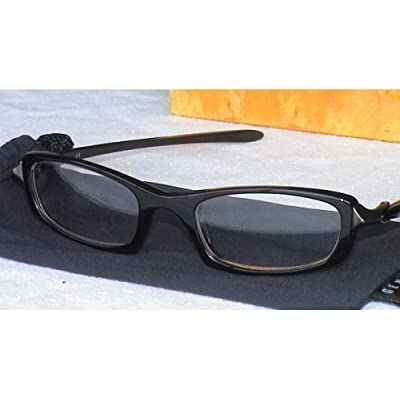Glasses Frame Size 49 : Amazon.com: OAKLEY COSINE EYEGLASSES RX FRAMES JET BLACK ...