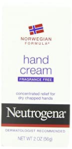 Neutrogena Norwegian Formula Hand Cream, Fragrance-Free, 2 oz, Pack of 8
