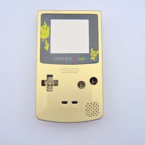 gameboy color pikachu edition blue battery