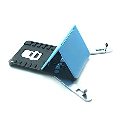 UNIVERSAL MOBILE STAND WITH SIM SLOTS & MICRO SIM EJECT PIN - MUST HAVE SMART PHONE TRAVEL ACCESSORY