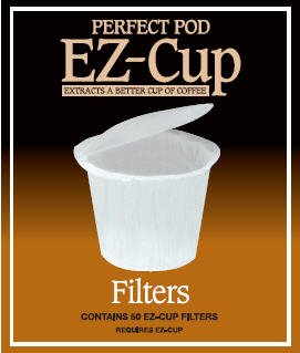 EZ-Cup Filter Papers by Perfect Pod- 3 pack (150