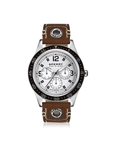 Sperry Men's 103298 Top-Sider Brown/Silver Stainless Steel Watch