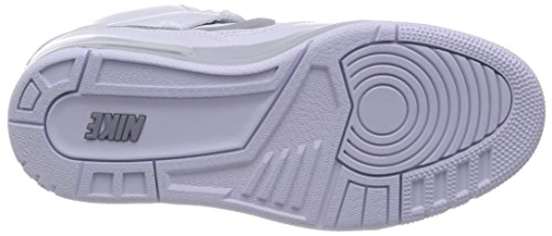 Nike Air Revolution Sky Hi Women's Shoes Wedge White/Hyper Punch/Metallic Silver/Wolf Grey 599410-102 (SIZE: 7.5)