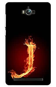 iessential initials Designer Printed Back Case Cover for Asus Zenfone Max ZC550KL