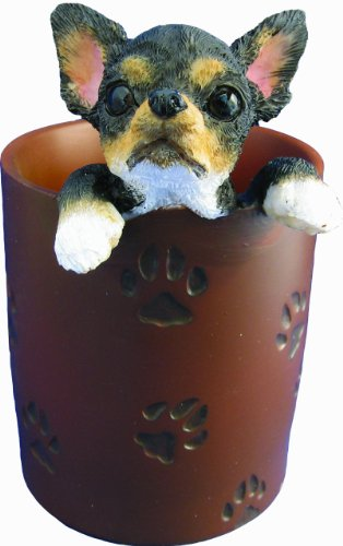 Chihuahua, Black & Tan  - Pen/Pencil Holder
