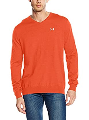 Under Armour Jersey Pullover Sweater V (Naranja)