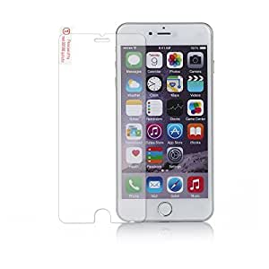 Merit iPhone 6 Plus Tempered Glass Screen Protector (5.5 inch) Perfect Touch-screen Accurate, Provide 100% Crystal, Round Edge with 0.26mm, 9 HD Hardness Glass Screen Protector with Bumps Free, Drops Free, Marks Free and Bubb